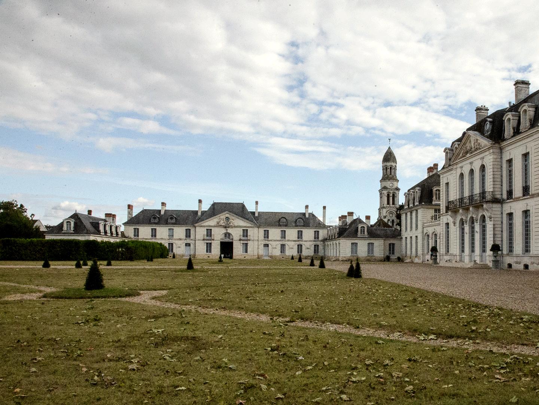 Château des Ormes en automne