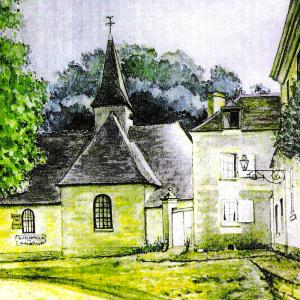 Dessin ancienne Église