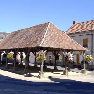 Halles of Les Ormes