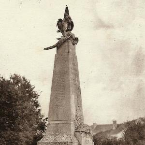 Memorial of les Ormes