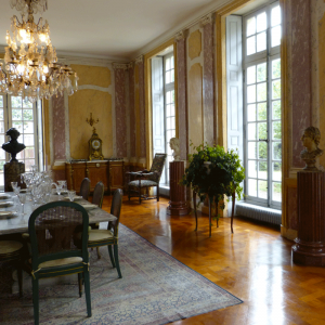 Dining room of the Castle of Les Ormes