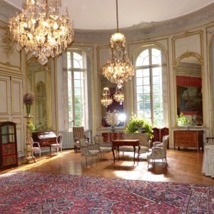 Ceremonial room of the Castle of Les Ormes