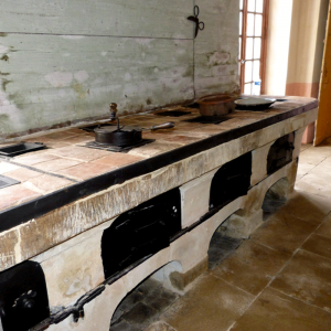 Cooker of the Castle of Les Ormes